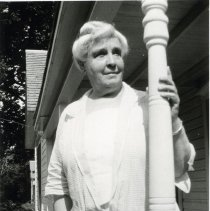 Image of Older Woman on a Porch View 2