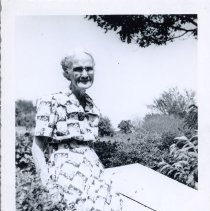 Image of Woman Sitting Outside - 2010-06-001.008.231