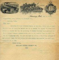 Image of Kneeland Crystal Creamery Co. Letterhead