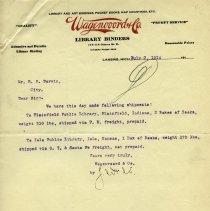 Image of Wagenvoord & Co. Letterhead