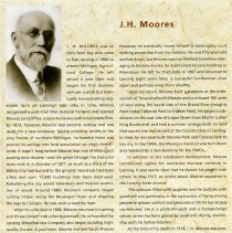 Image of J. H. Moores Biography