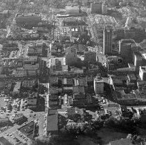 Image of Aerial View of Downtown Lansing and State Government Buildings - 2015-06-003.V1.002