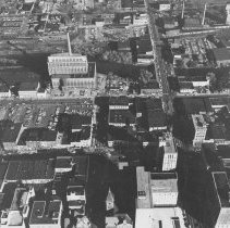 Image of Aerial View of Lansing Downtown  - 2015-06-003.V1.004