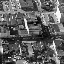 Image of Aerial View of Downtown Lansing.  - 2015-06-003.V1.016a
