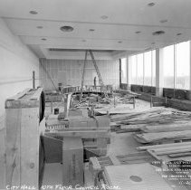 Image of City Hall, 10th Floor Council Room under construction - 2015-06-003.V1.051