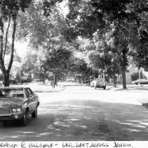 Image of West Hillsdale Street, looking west across South Jenison Street. - 2015-06-003.V3.059