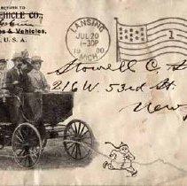 Image of Stationery: Olds Motor Vehicle Co., Lansing - 2007-12-001.132