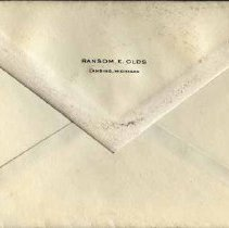 Image of Stationery: Ransom E. Olds - 2007-12-001.135