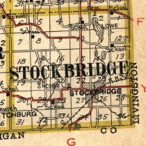 Image of Stockbridge Detail - 1916 Bowen Atlas