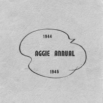 Image of Dansville Aggie Annual 1945 Cover