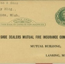 Image of Michigan Shoe Dealers Mutual Fire Insurance Company - 2015-01-001.V04.005