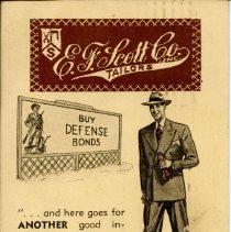 E. F. Scott Co. Inc. Tailors