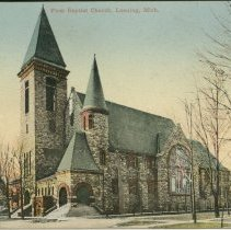 Image of First Baptist Church, Lansing, Mich.  - 2015-01-001.V05.001a