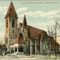 Image of First Baptist Church, Lansing, Mich.  - 2015-01-001.V05.004a