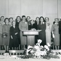 Image of Past Presidents 1956