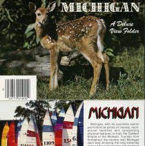 Image of Michigan: A Deluxe View Folder - 2015-01-001.V06.072