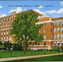 Image of St. Lawrence Hospital, Lansing, Michigan.  - 2015-01-001.V08.068
