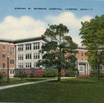 Image of Edward W. Sparrow Hospital, Lansing, Michigan - 2015-01-001.V08.093
