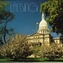Image of The State Capitol Building, Lansing Michigan - 2015-01-001.V10.089