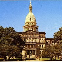 The State Capitol Building, Lansing, Michigan