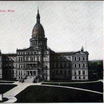 Image of Capitol, Lansing, Michigan - 2015-01-001.V11.070