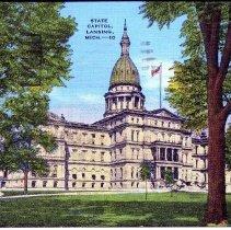Image of State Capitol, Lansing, Michigan - 2015-01-001.V11.074a