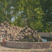 Image of Monkey Mountain, Potter Park, Lansing, Michigan - 2015-01-001.V13.039