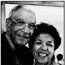 Image of Richard and Olivia Letts (Lansing State Journal, June 29, 1997)
