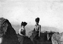 Image of Women on Mt. Tamalpais, date unknown - Print, Photographic