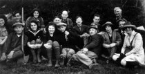 Image of Hikers from the California Alpine Hiking Club  1923 - Print, Photographic