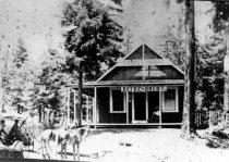 Image of Summit House on Bolinas Ridge at Ridgecrest, Mt. Tamalpais, date unknown - Print, Photographic