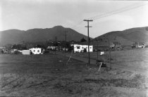 Image of East Blithedale Avenue with Mt. Tamalpais in the distance, 1930 - Negative, Glass Plate