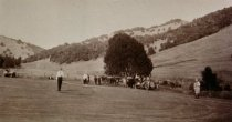 Image of Site of Boyle Park on East Blithedale Avenue, circa 1900 - Print, Photographic