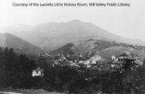 Image of View of Mill Valley, date unknown - Print, Photographic
