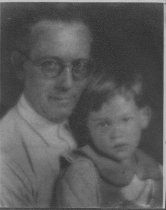 "Image of Douglas ""Archie"" Nye and child, date unknown - Photograph"