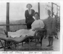 Image of Kate Robinson and Olivia, 1911 - Photograph