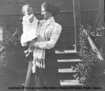 Image of Kate Robinson with Lance, 1903 - Photograph