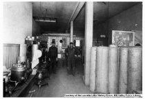 Image of Muntz Plumbing Shop at 57 Throckmorton Avenue, 1914                                                                                                                                                                                                        - Print, Photographic