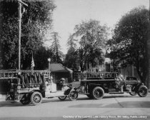 Image of Mill Valley Fire Department Engines, 1925