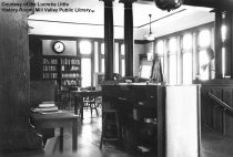 Image of Carnegie Library - interior, date unknown