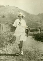 Image of Women's Dipsea Hike winner Emma Reimann, 1921                                                                                                                                                                                                             - Print, Photographic