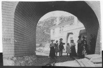 Image of Tavern of Tamalpais arch, circa 1901                                                                                                                                                                                                                       - Print, Photographic