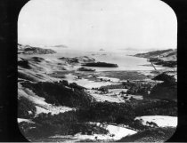 Image of Overlooking Mill Valley, 1890s                                                                                                                                                                                                                                 - Print, Photographic