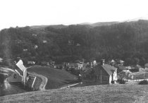 Image of View south across Summit Avenue, circa 1900                                                                                                                                                                                                                - Print, Photographic
