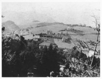 Image of Summit Avenue with Mt. Tamalpais in distance, 1900                                                                                                                                                                                                         - Print, Photographic