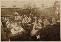 Image of Tamalpais Park School Class picture, circa 1910                                                                                                                                                                                                                - Print, Photographic