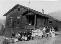 Image of Homestead School, date unknown                                                                                                                                         - Print, Photographic