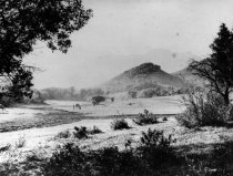 Image of Site of sulphur spring and later Old Mill School, 1888                                                                                                                                                                                                         - Print, Photographic