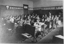 Image of Summit School classroom, 1910                                                                                                                                                                                                                                  - Print, Photographic