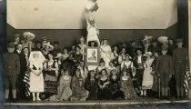 Image of Foreign language play at Tamalpais High School, early 1900s